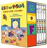 echange, troc Leo et Popi : coffret 4 DVD + 12 CUBES