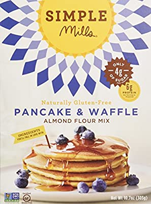 Simple Mills New Mix Variety Pack - Pancake, Pizza & Vanilla Cake, 3 Count
