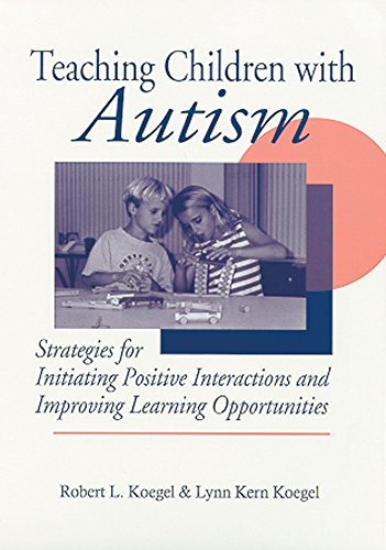 Teaching Children with Autism: Strategies for Initiating Positive Interactions and Improving Learning Opportunities
