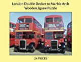 London Double Decker to Marble Arch - 35pc Adult Large Piece Jigsaw Puzzle for People with Disabilities, Dementia and Elderly