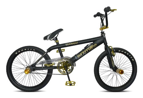 Rooster Attitude BMX Bike. Black with Gold Fittings. Gyro 360 Mechanism. Brand New 2012 Model!