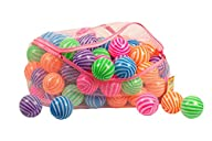 Toysag ball pit 100 pack STRIPE SHAPE…