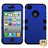 Product B008DJH5HG - Product title MYBAT IPHONE4AVHPCTUFFSO005NP Premium TUFF Case for iPhone 4 - 1 Pack - Retail Packaging - Titanium Dark Blue/Black