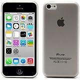 Coque gel souple effet mat anti trace de doigt pour iPhone 5C