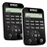 Nyrius 11 Language Global Digital Talking Travel Translator Foreign Pocket-Sized Electronic Speaking Dictionary (ENTOURAGE11) - Bonus Pack of 2