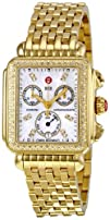 MICHELE Womens MWW06P000100 Deco Analog Display Swiss Quartz