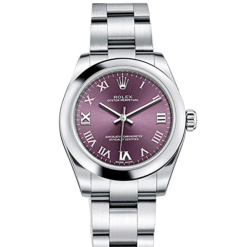 rolex-oyster-perpetual-31-red-grape-roman-dial-steel-ladies-watch-177200