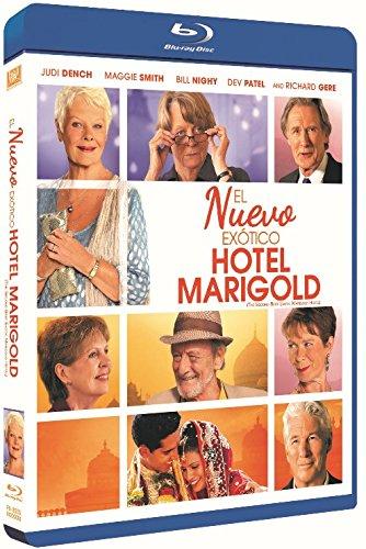 El nuevo exótico Hotel Marigold [Blu-ray]