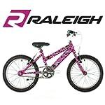 "Raleigh Krush 18"" Childrens Bike - Pi..."