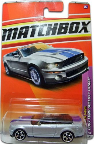 2011 Matchbox (Silver) 2007 FORD SHELBY GT500 #7/100, Sports Cars #7/13 - 1