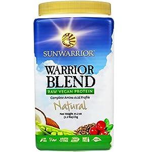 Sunwarrior Warrior Blend Protein, Natural 2.2 lbs