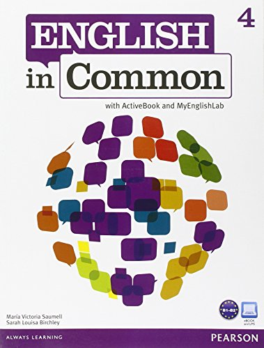 ENGLISH IN COMMON 4 STUDENT BOOK+ABK+MYLAB
