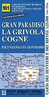 IGC Italien 1 : 25 000 Wanderkarte 101 Gran Paradiso