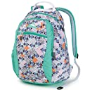 High Sierra Curve Backpack Native Heart/Aqua/White