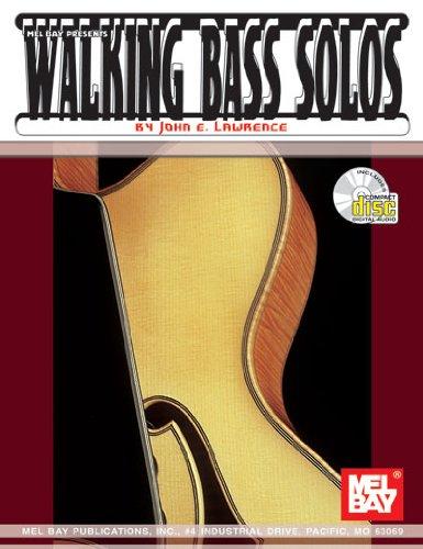 Mel Bay Walking Bass Solos for Guitar (Book/CD Set)