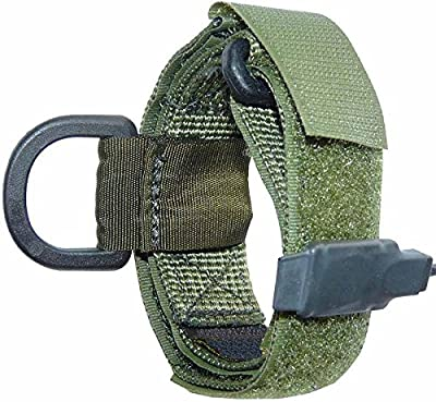 Ultimate Arms Gear IDF Israeli Defense Forces Slip On OD Olive Drab Green Sling Mount Strap Loop Adapter Rifle Shotgun Velcro Attachment with D-Ring For Ruger American Mini-30 CZ 527
