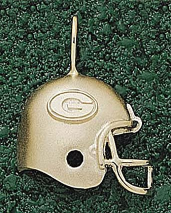 Georgia Bulldogs G Helmet Pendant - 14KT Gold Jewelry by Logo Art