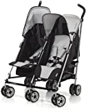 Hauck Turbo Duo Double Buggy (Grey)