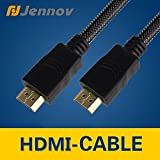 Jennov High Speed HDMI Cable 6 Ft (1.8 Meters) Supports Ethernet, 3D, 4K and Audio Return