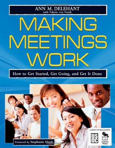 how to make meetings work The tools you need to make every meeting more productive alexandra samuel even though the core work of a meeting — listening to and connecting with other.