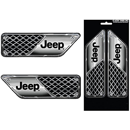 Jeep Logo Vent Look Auto Car Truck Suv Vehicle Garage Home