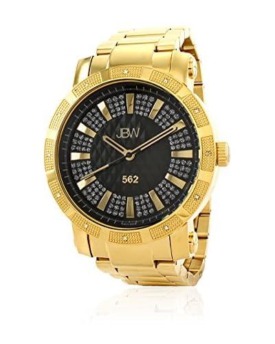 """JBW Reloj con movimiento cuarzo suizo """"562"""" Dorado 50  mm"""