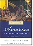 img - for America: A Narrative History (Eighth Edition) (Vol. 2) book / textbook / text book