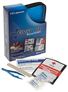 First Aid Only All-purpose First Aid Kit, Soft Case, 131-Piece Kit (Pack of 2)