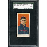 1909 E92 Dockman Larry Mclean Reds SGC 30 GD 271751 Kit Young Cards