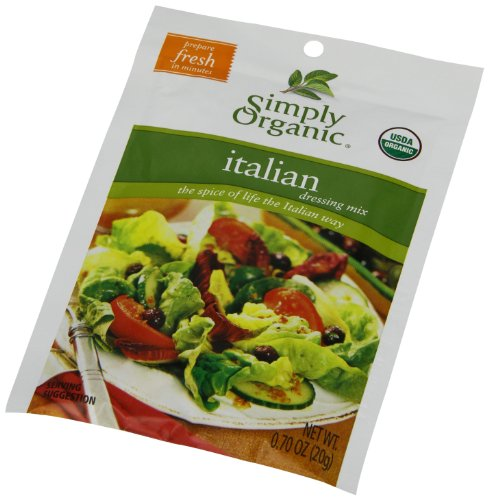 Simply Organic Salad Dressing Mix, Italian, 12 Count (Pack of 12)
