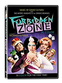 "Cover of ""Forbidden Zone"""