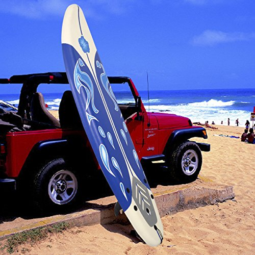 Giantex 6' Surfboard Surf Foamie Boards Surfing Beach Ocean Body