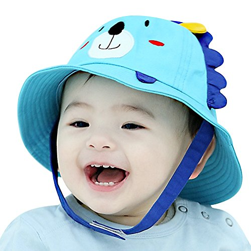buy Lean In Little Lion Baby Sun Hat Outdoors Hat with Chin Strap, Breathable 50+ UPF - 2016 best gift in USA for sale