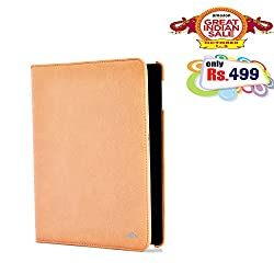 RSAFE Anti-Radiation 360 Degree Rotating PU Leather Smart Case Cover For Samsung Note 10.1 (pink)