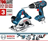 Bosch GSB GKS Dynamic Series Combi Drill and Circular Saw 18V Li-Ion Cordless