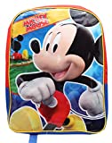 Full Size Red and Blue Mickey Mouse Kids Backpack