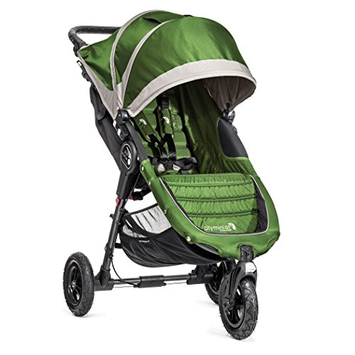 Baby Jogger City Mini Gt Single Stroller, Lime/Gray front-881071