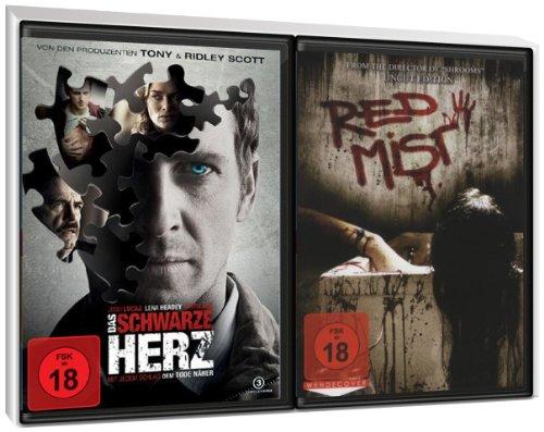 FSK 18 Spar-Set 2 DVDs Horror : Das schwarze Herz + Red Mist