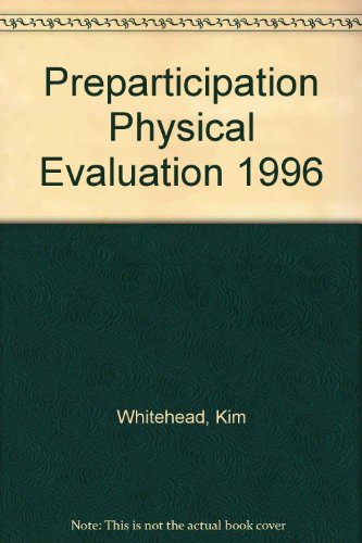 Preparticipation Physical Evaluation 1996 PDF
