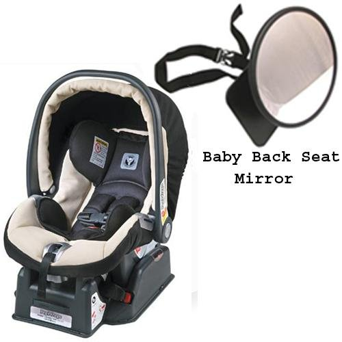 Peg Perego Primo Viaggio SIP 30 30 car seat PALOMA with EasyView Ultimate Back Seat Mirror