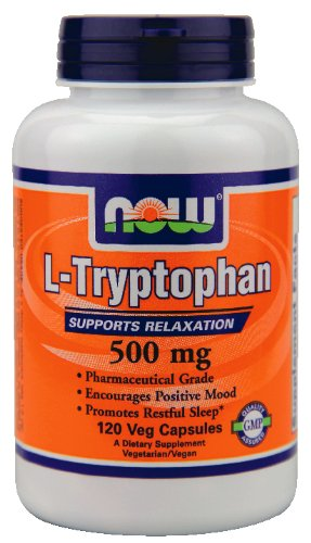 Now Foods L-tryptophane 500 mg - 120 capsules