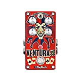 DigiTech -ventura-vibe Rotary/Vibrato Pedal Guitar-Multi-Effects (Color: Red, Tamaño: REGULAR)