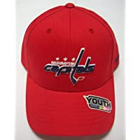 Washington Capitals Velcro Strap Youth Hat by Reebok N683B