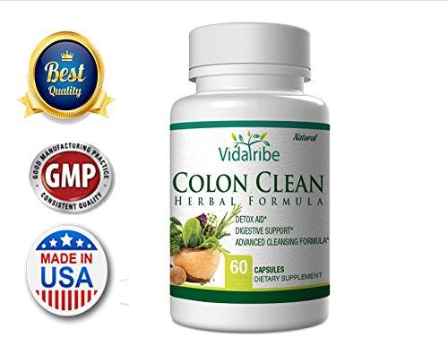 Colon Clean Herbal Colon Cleanse Detox Formula 19 Herbs