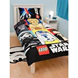 Childrens/Kids Lego Star Wars Duvet/Quilt Cover Bedding Set