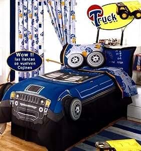 suenos truck kids komplett wendbare blatt und. Black Bedroom Furniture Sets. Home Design Ideas