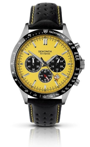 Sekonda Gents Strap Chronograph Watch 3378