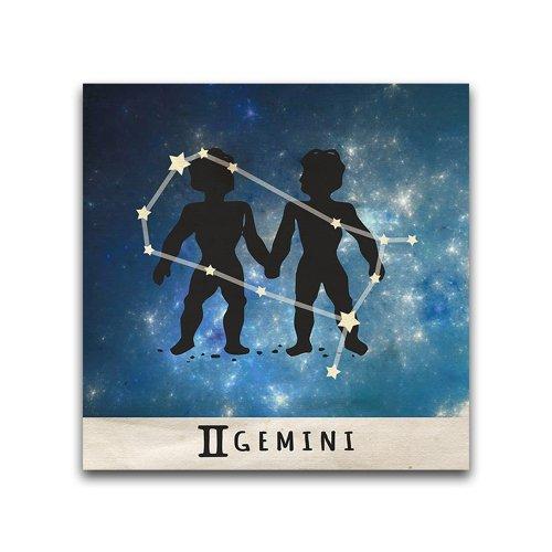 16x16-Gemini-Zodiac-Constellation-Printed-Metal