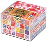 Origami - Loisirs Créatifs - Papier Washi à Motifs (Washi Chiyogami) - Coffret de 30 Motifs Assortis - 12 Feuilles de chaque - Verso blanc - 360 Feuilles au total - 7,5cm x 7,5cm...