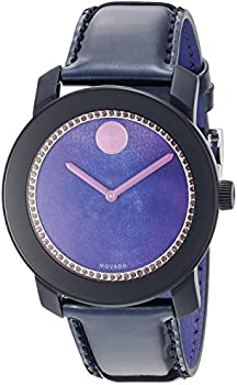 Movado 3600268 Bold Purple Ladies Watch